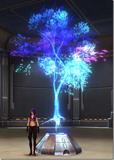 Holographic Tree (Blue) 2