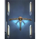 Luxury Sconce Set: Blue