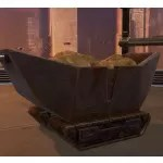 Mine Cart (Asteroid Rocks)