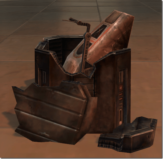 Neutronium Speeder Parts 2
