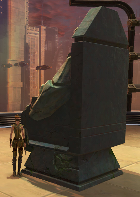 Statue of the Throned Sith 2