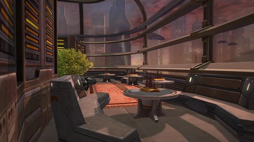 Tor Decorating Vrek S Jedi Academy Dormitory The Ebon