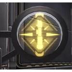 Circular Sign: Knight