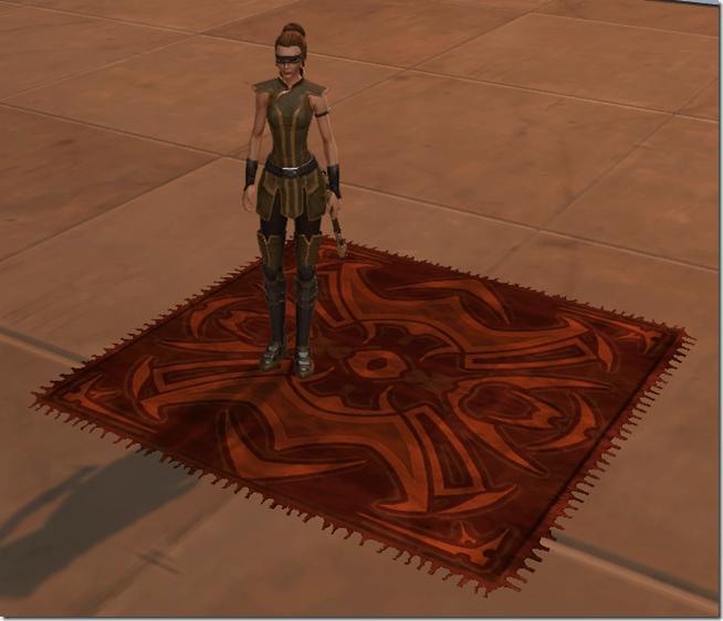Ornate Merchant's Rug 2