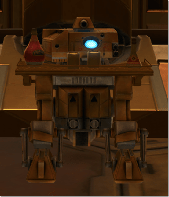 Serving Droid