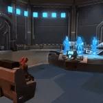 Uh'nyl's Holo Communication Room – Jar'Kai Sword