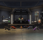 Alwiin's Coruscant Garage – The Red Eclipse