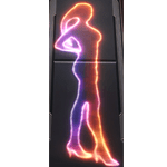Holo Sign: Cantina Dancer