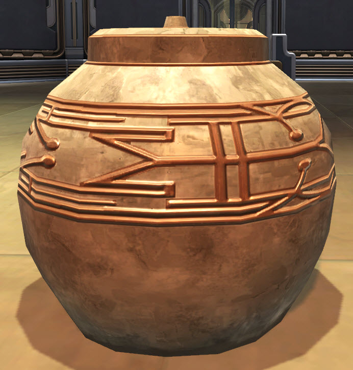 Pottery Yavin Temple