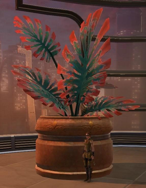 Potted Plant Jungle Yavin Fern 2