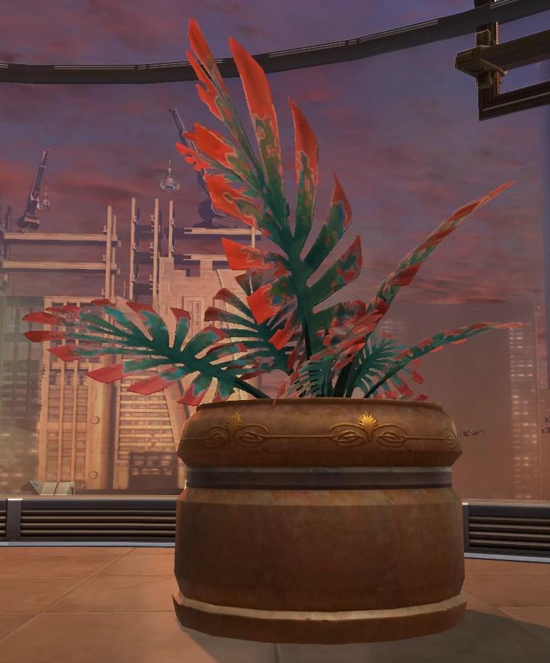 Potted Plant Jungle Yavin Fern