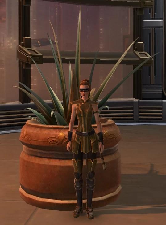 Potted Plant Yavin Octogave Plant 2