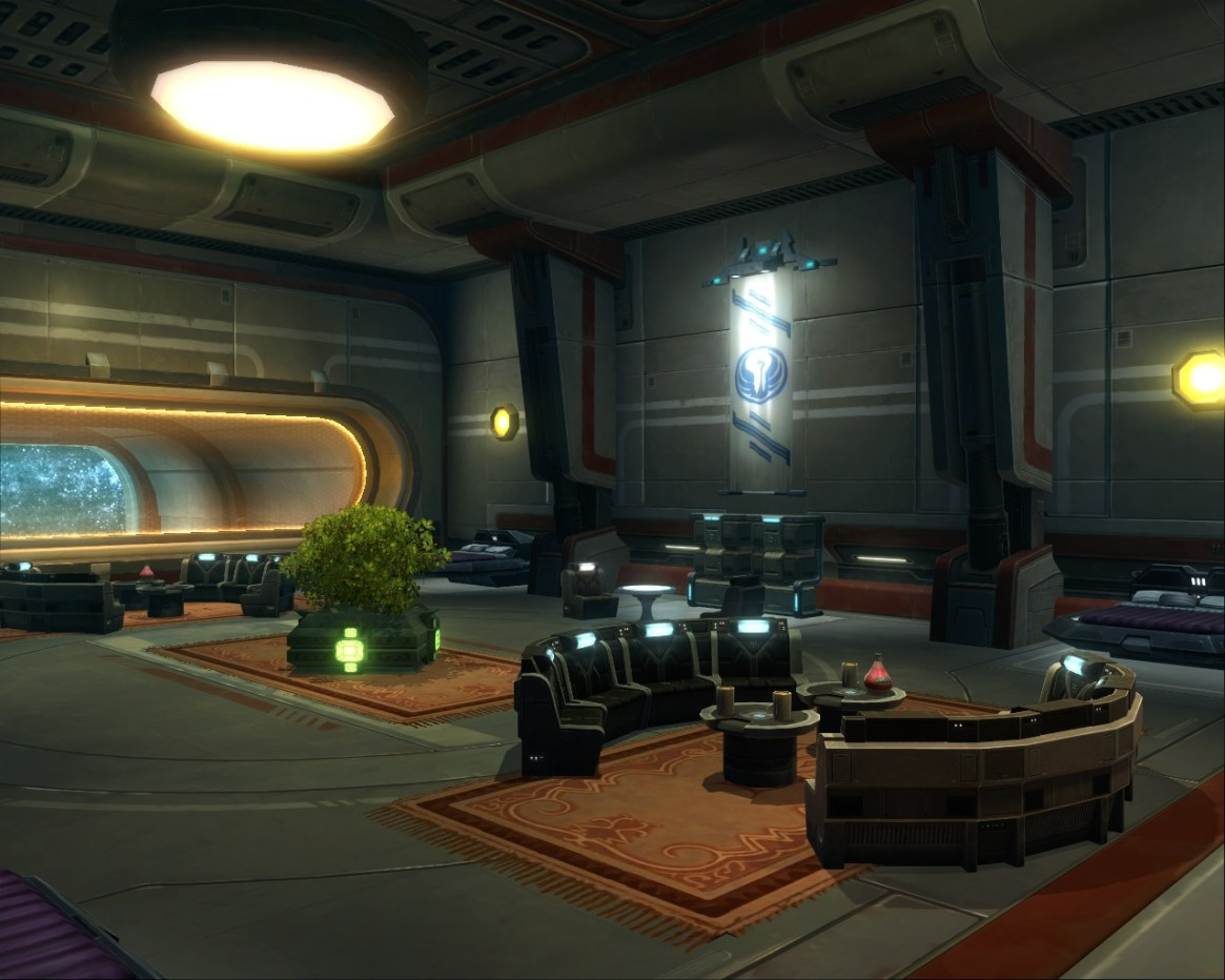Unity-Offiziersquartier