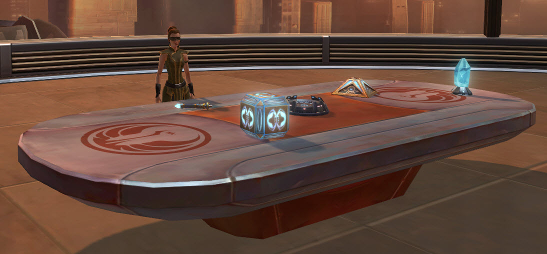 Jedi Small Council Table 2