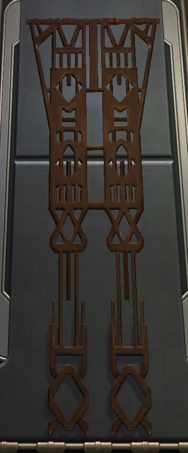 Yavin Temple Metal Banner