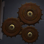 Decorative Gear Arrangement