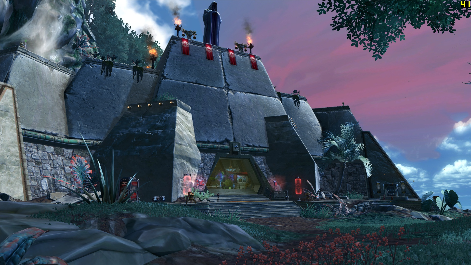 Brex's Imperial Stronghold – The Ebon Hawk