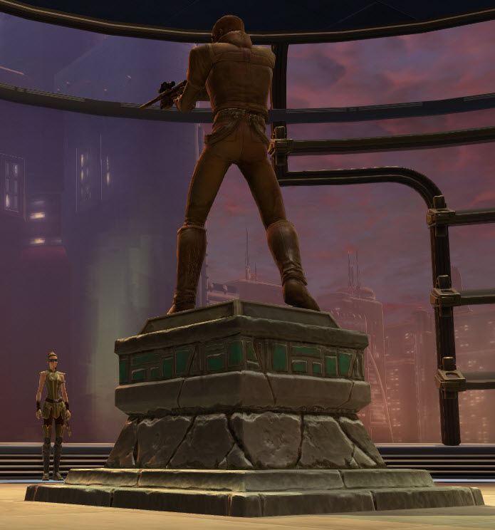 Commemorative Statue of Theron Shan 2