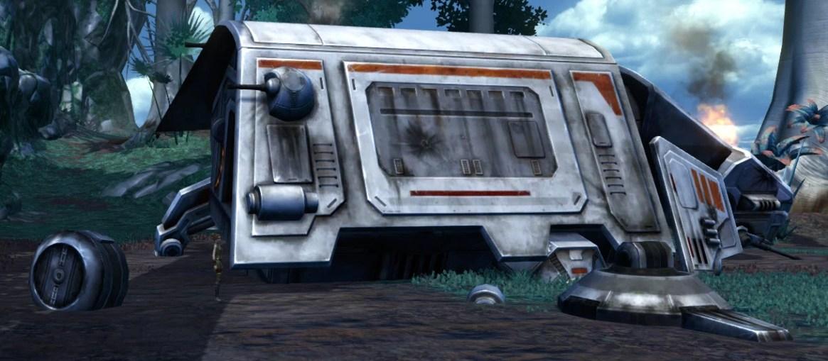 Damaged Republic ATV 2
