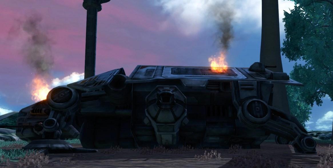 Damaged Republic ATV 3
