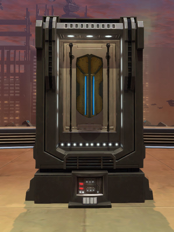 TOR Decorating | Zakuulan Shield and Staff Weapon Display (SWTOR)