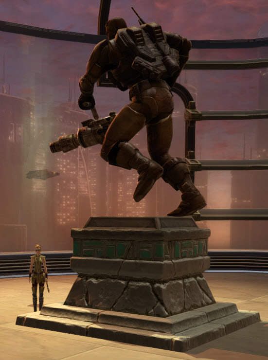 Commemorative Statue of Jace Malcolm 2