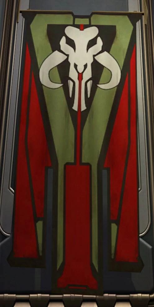 Banner Mandalorian Large