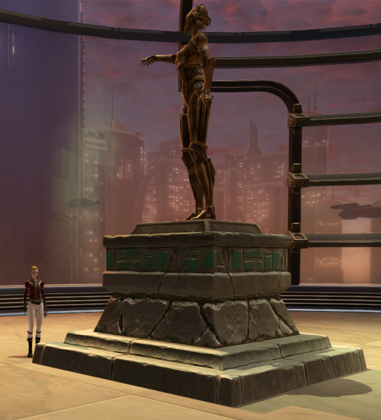 Commemorative Statue of SCORPIO 2