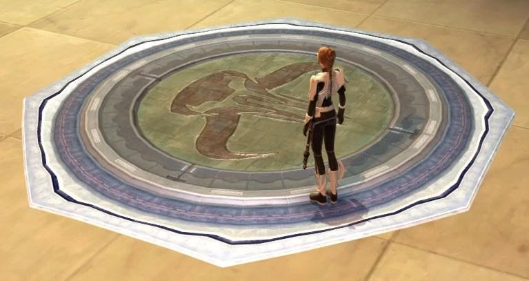 Mandalorian Floor Tile 2