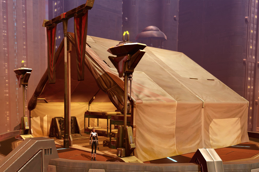 Mandalorian War Tent 4