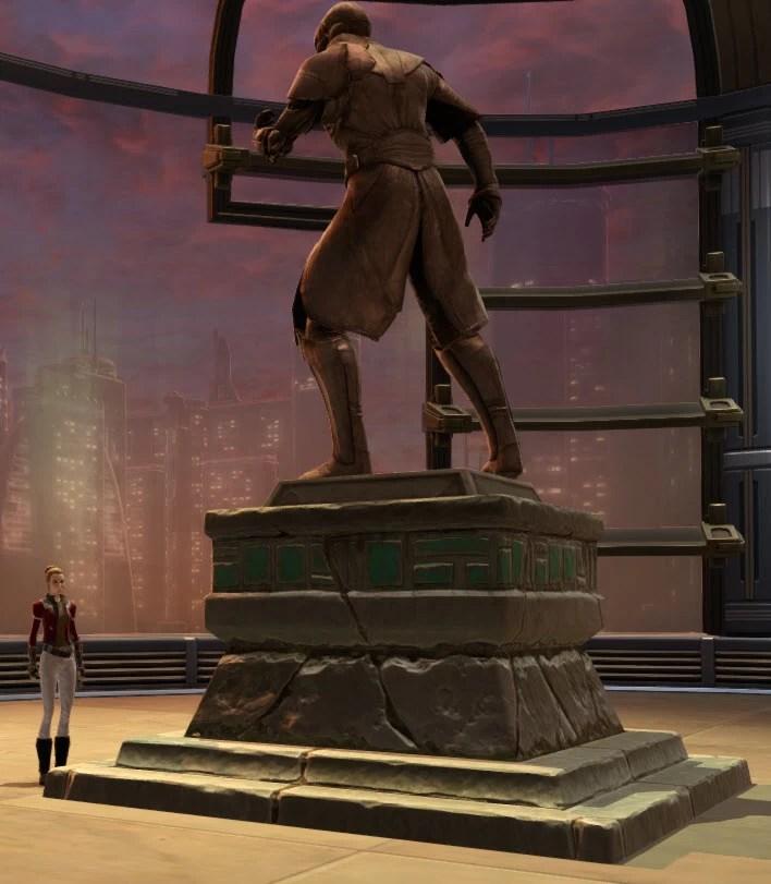 Commemorative Statue of Arcann 2