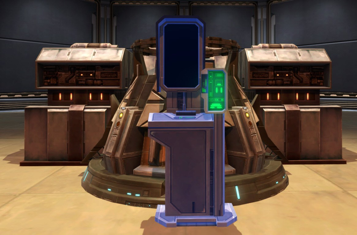 Eternal Flagship Command Console