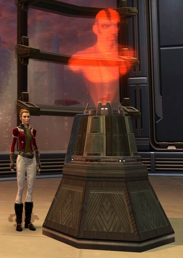 Sith Inquisitor Memorial Holoprojector 2