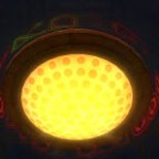 Dynamic Underworld Ceiling Light (Yellow)