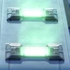 Set Light Bar: Green