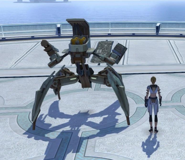 Iokath Compactor Droid