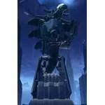 Commemorative Statue of Izax, The Destroyer