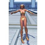 Upbeat Twi'lek Dancer (Female)