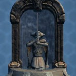 Jedi Padawan Fountain Shrine