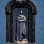 Jedi Master Fountain Shrine