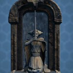 Small Jedi Padawan Fountain Shrine