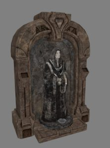 Torch Jedi Knight Shrine