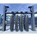 Carbonite Prisoner Rack