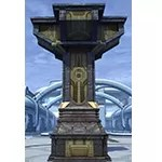 Enclave Gold Three-Way Column