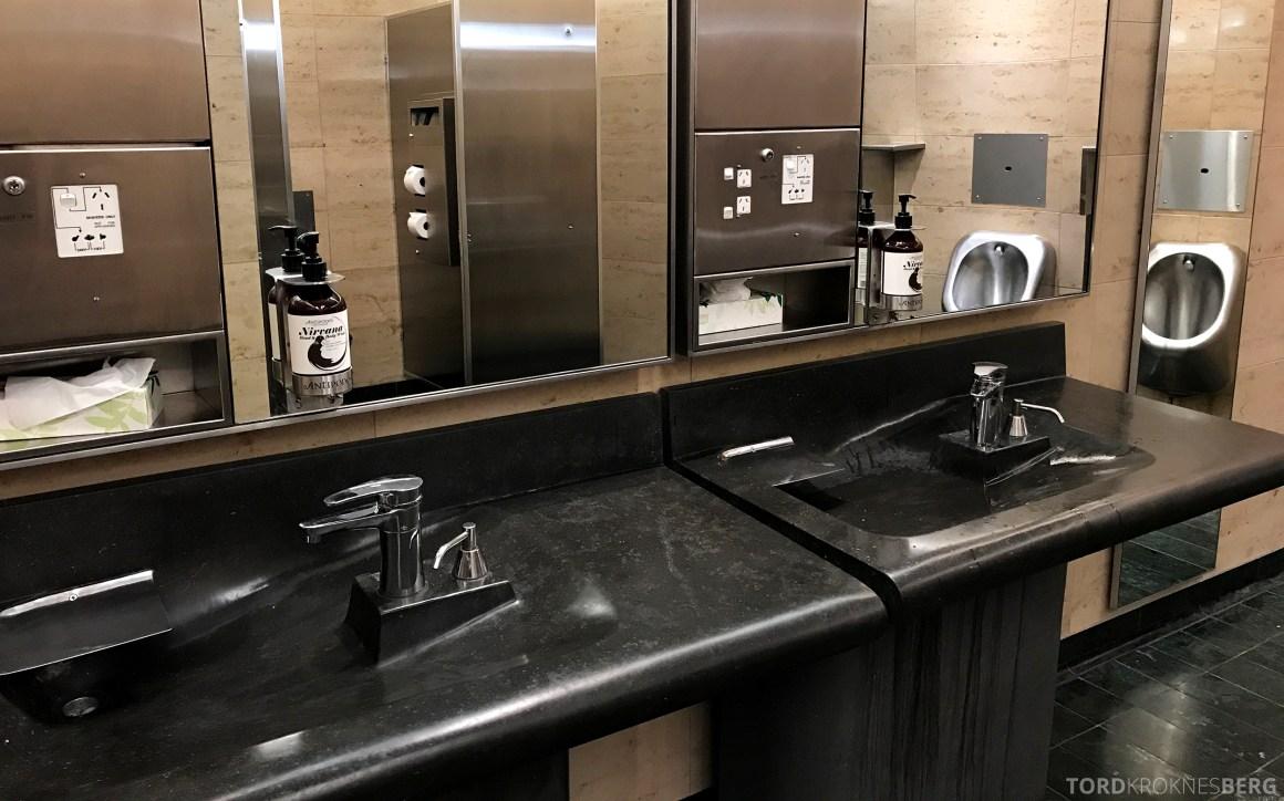 Air New Zealand Lounge Wellington toalett