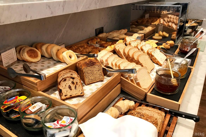 InterContinental Wellington frokost brød