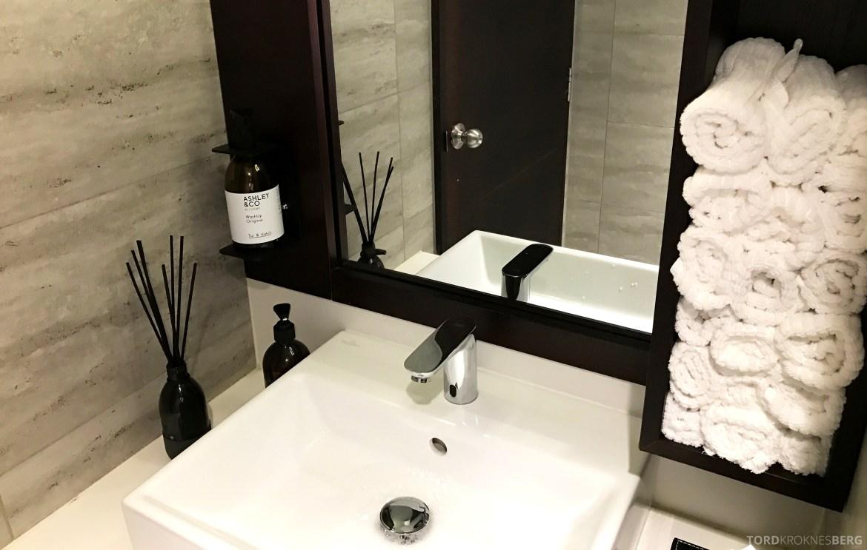 InterContinental Wellington Club Lounge toalett