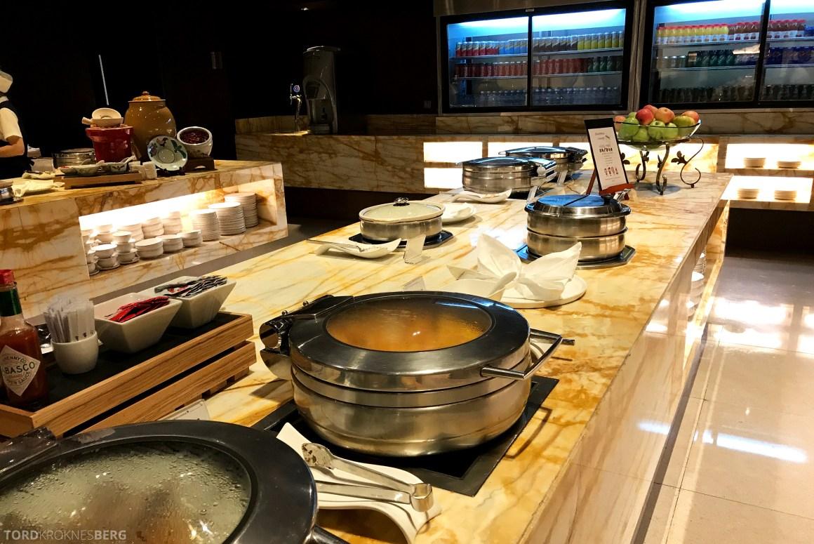 Singapore Airlines SilverKris Lounge mat buffet