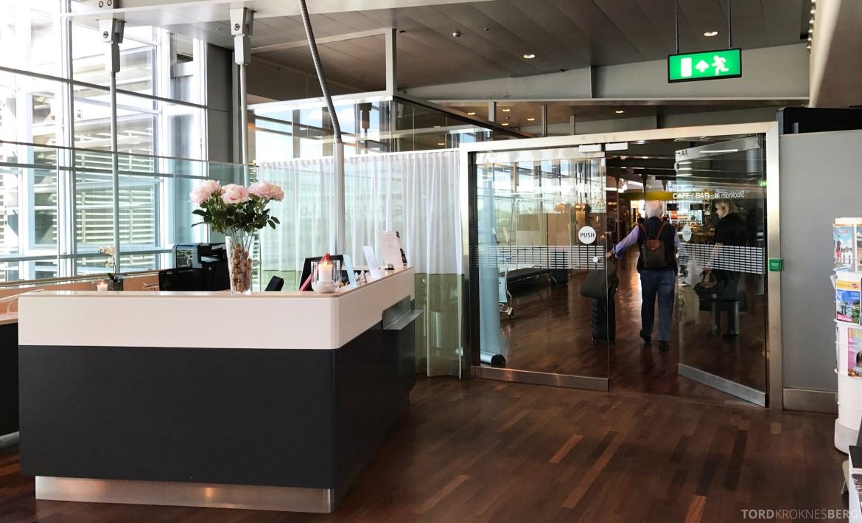 Stockholm Arlanda Lounge resepsjon
