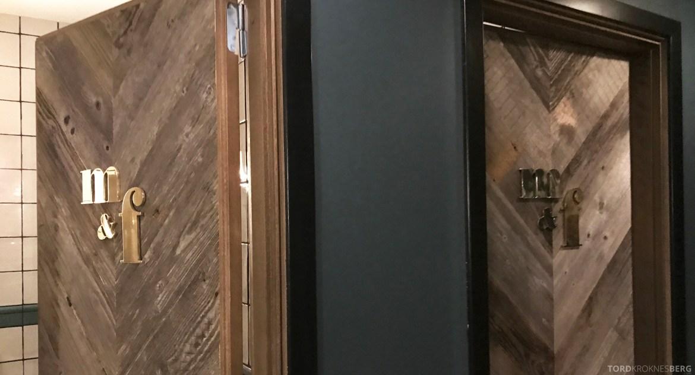 Jamie's Italian Aker Brygge Oslo toalett